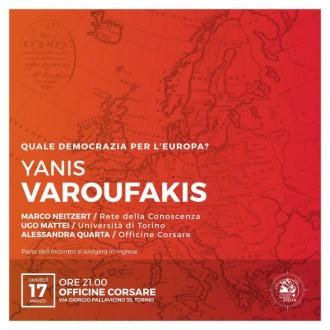 Quale democrazia per l'Europa? – Yanis VAROUFAKIS 17/03/16