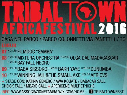 Border Radio al Tribal Town Festival! 7-10 luglio 2016