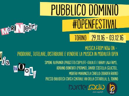 Festival Pubblico Dominio 2016